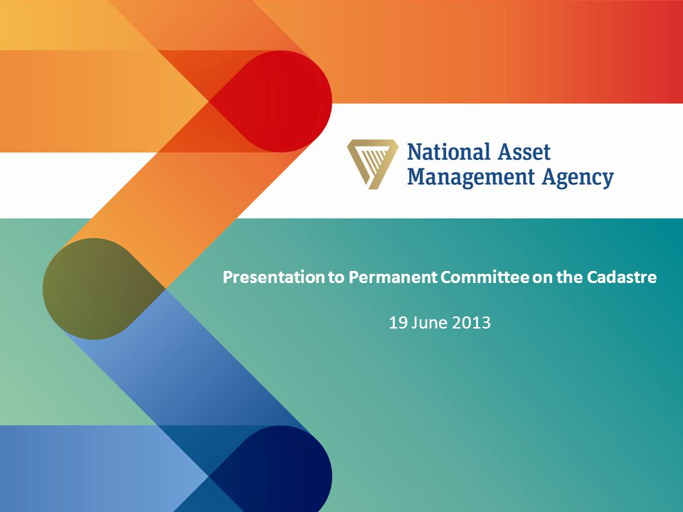 Presentation to Permanent Committee on the Cadastre 19 June 2013