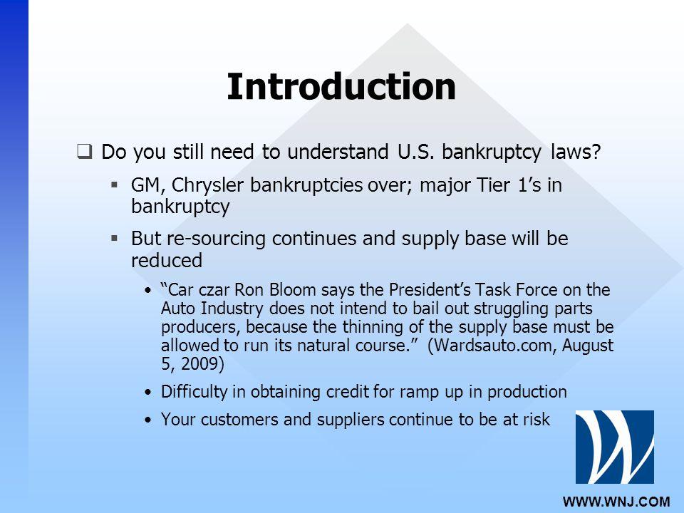 WWW.WNJ.COM Introduction  Do you still need to understand U.S.
