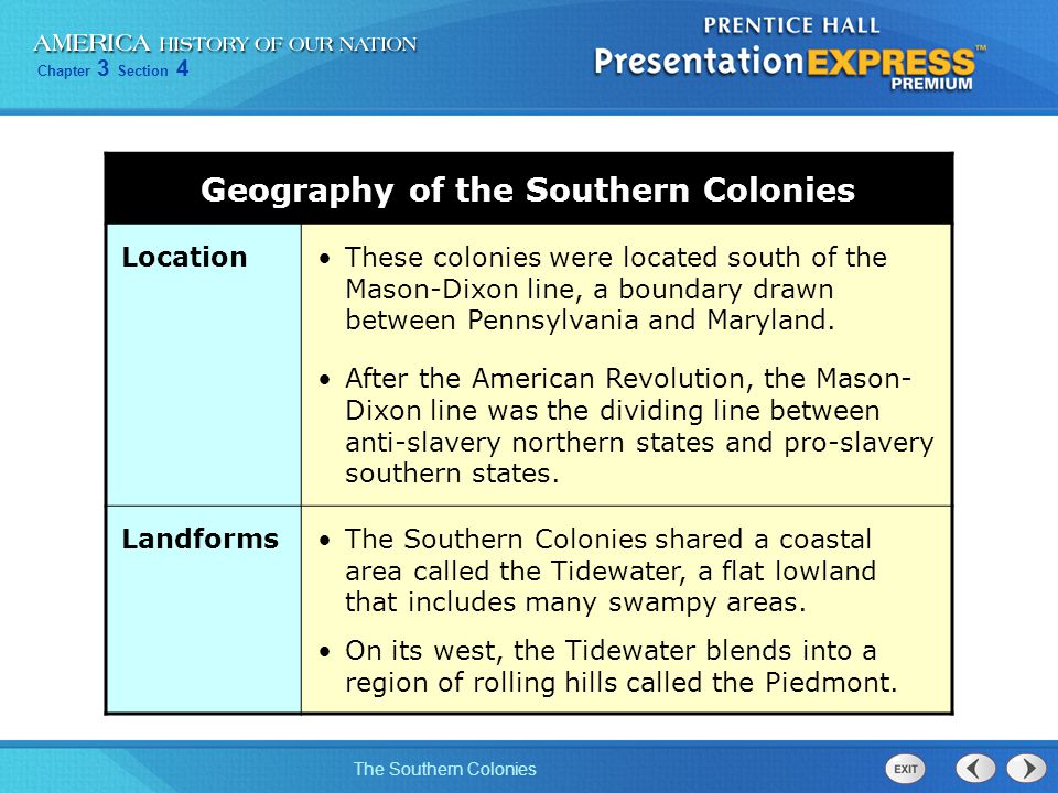 Chapter 3 Section 4 The Southern Colonies Georgia, the last of England's 13 colonies, was founded for two reasons: An English colony south of Carolina would confine the Spanish to their Florida colony.