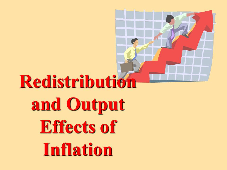 If we hold Real Output [Real GDP] constant, and at full-employment [NRU], we can assess the effect of inflation on the distribution of income.