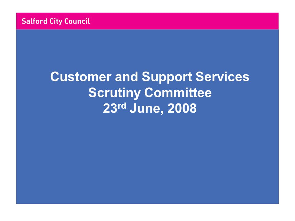 Finance Division Performance Report 2007/08