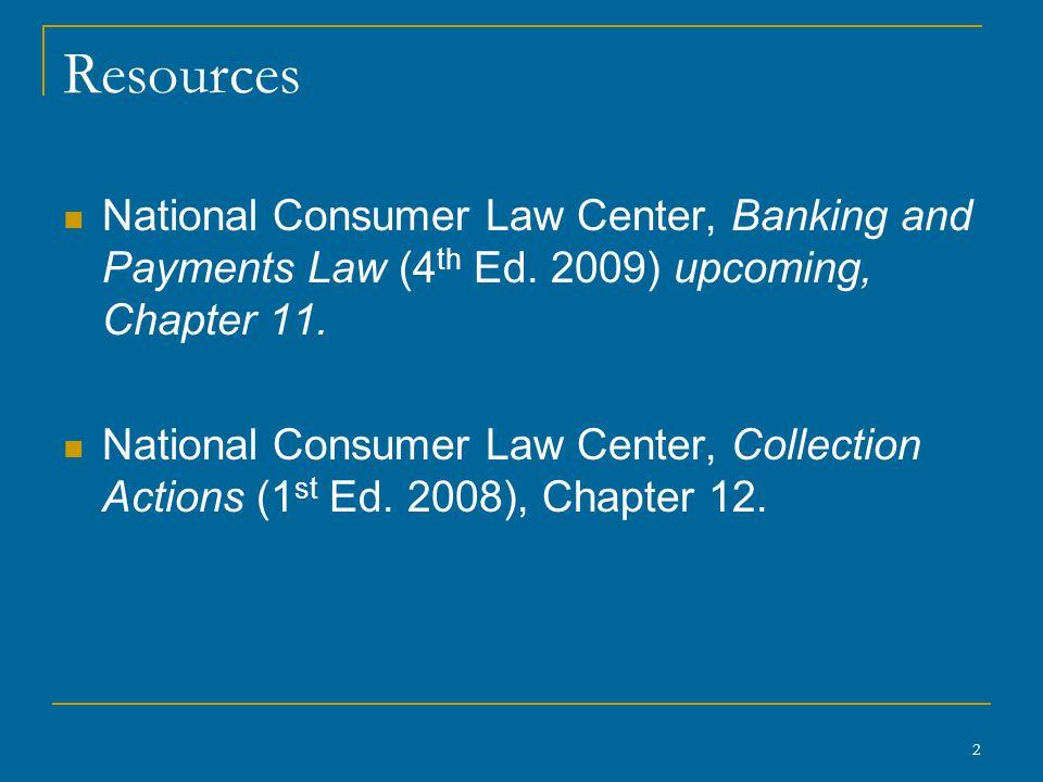 13 Bank Account Protection, cont'd W.Va.
