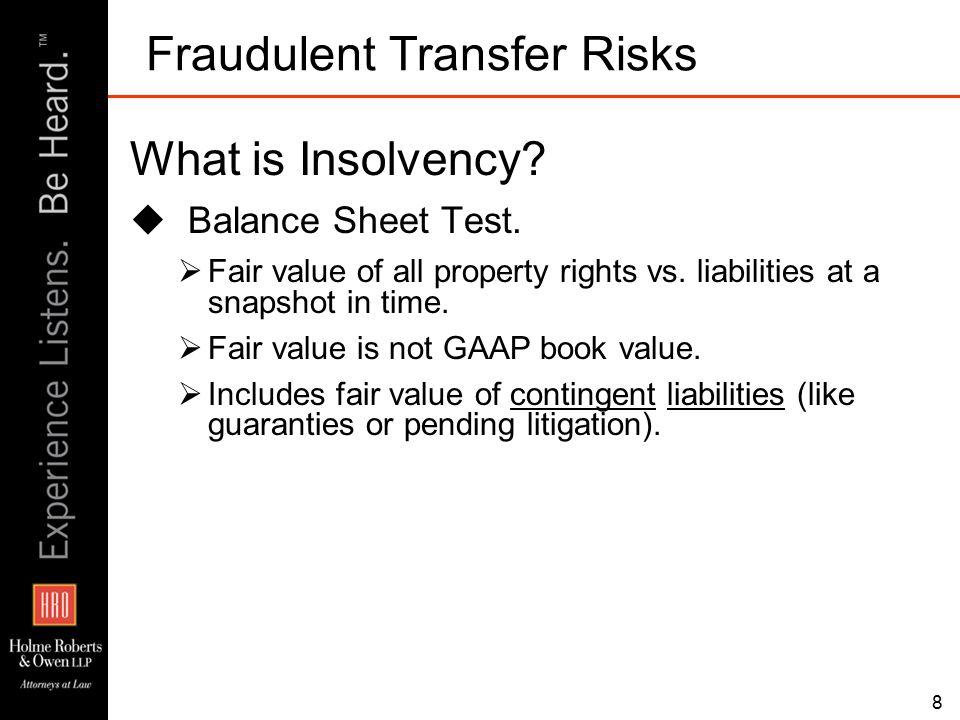 Legal Discussion Regarding Foreclosure Robert A.
