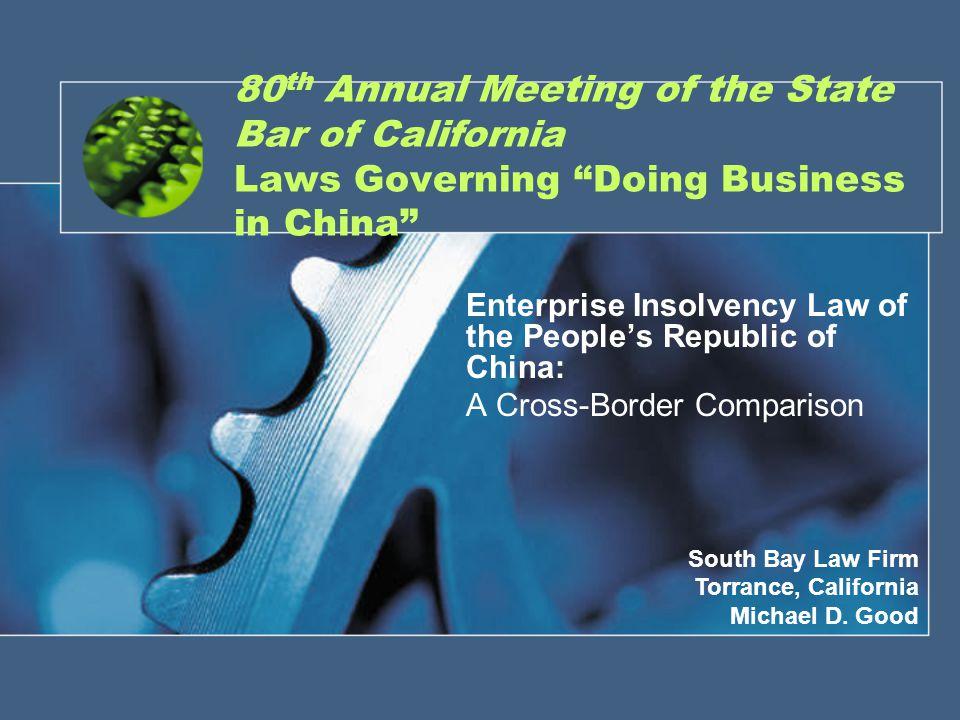 South Bay Law Firm Comity.11 U.S.C. § 1509(b)(3) P.R.C.