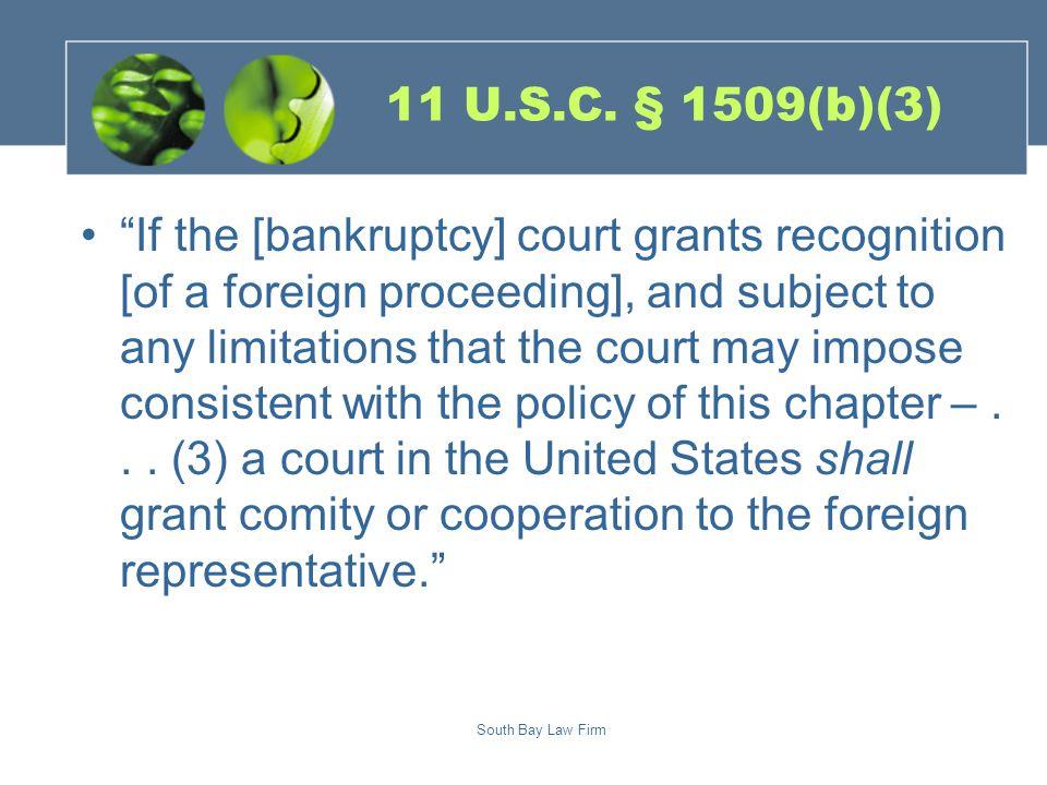South Bay Law Firm 11 U.S.C.