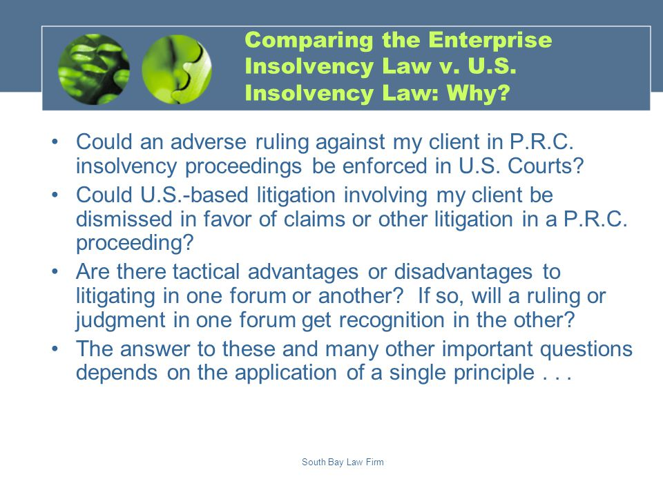 Comity Historical U.S. Case Law and Principles