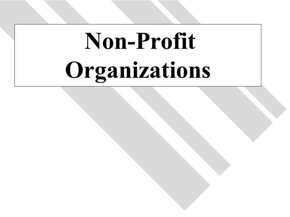 44 Non-Profit Organizations