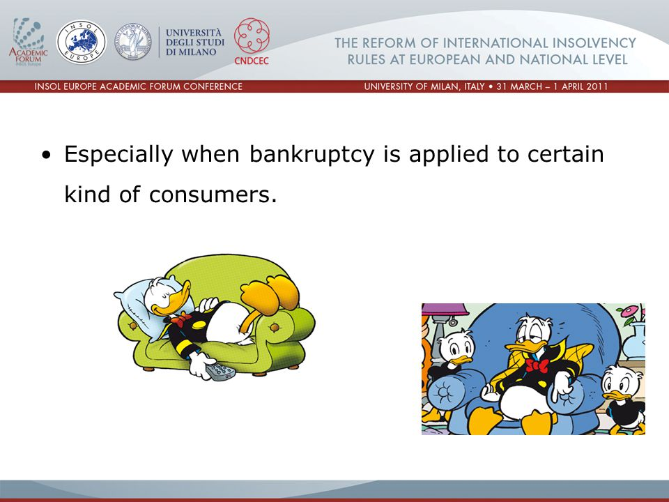 In 2008 the Polish Parliament considered and passed the first Consumer Insolvency Law.