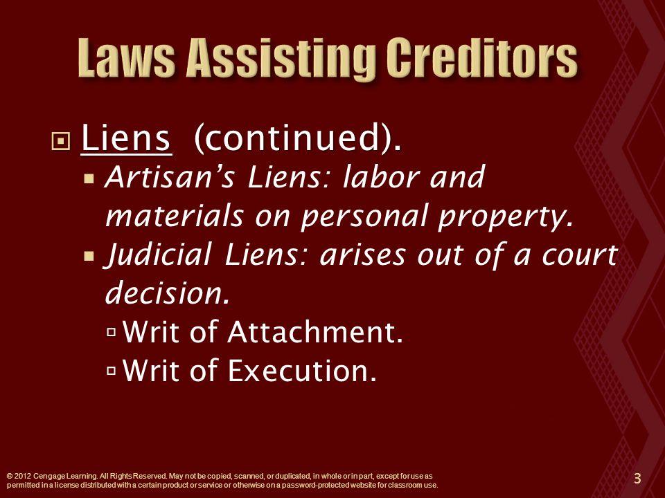  CASE 15.3 United States Aid Funds, Inc.v. Espinosa (2010).