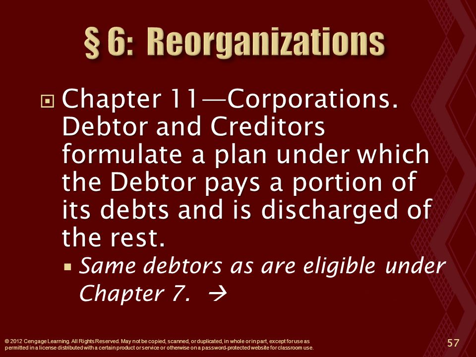  Chapter 11—Corporations.