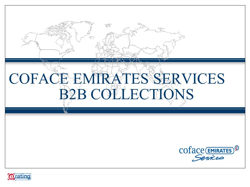 COFACE EMIRATES SERVICES B2B COLLECTIONS 1