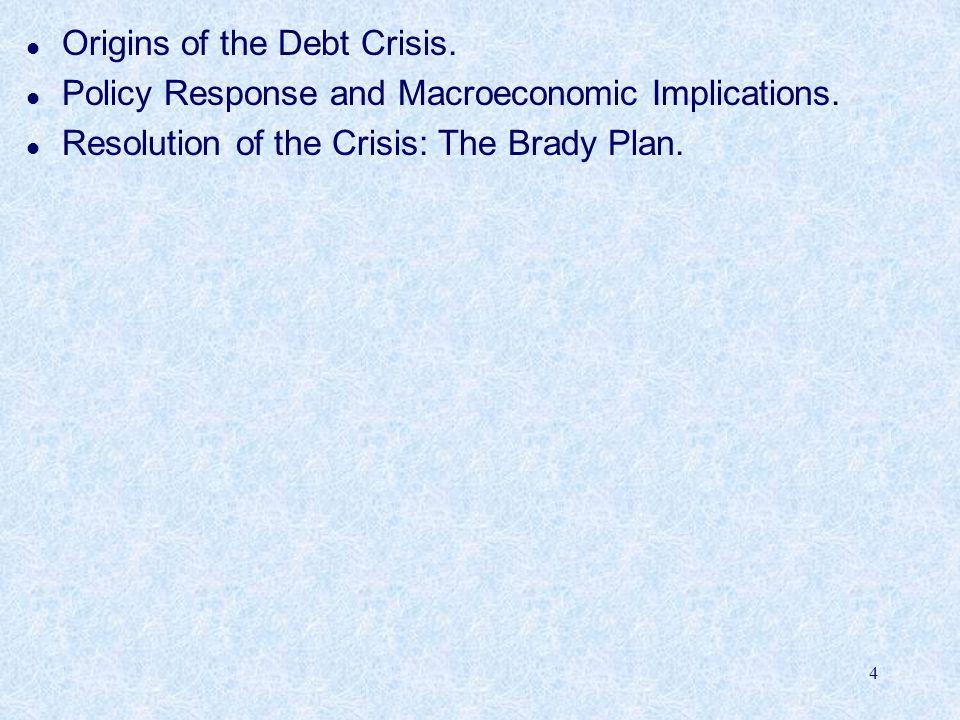 Origins of the Debt Crisis