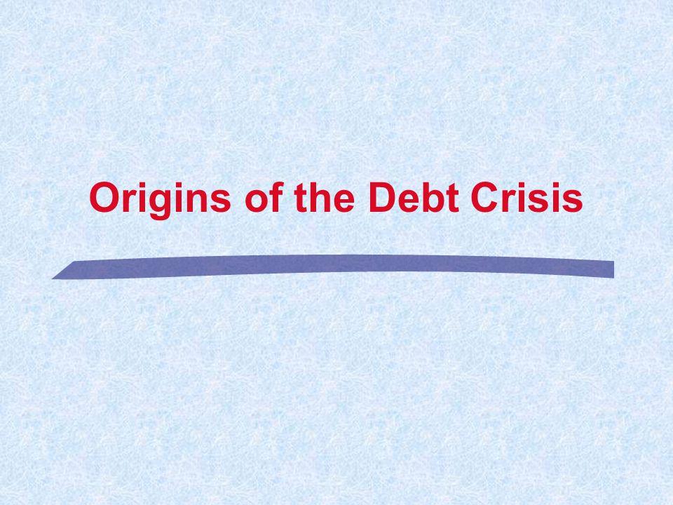 6 l Public Sector Solvency. l Application to the Debt Crisis.