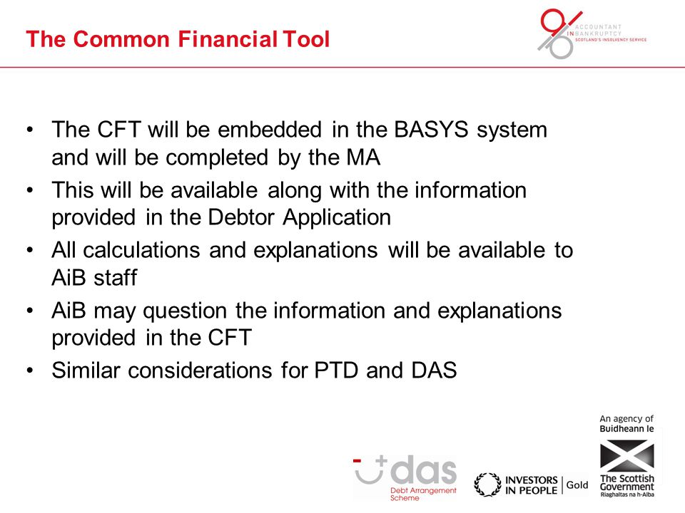 The Common Financial Tool How does this help build financial capability.
