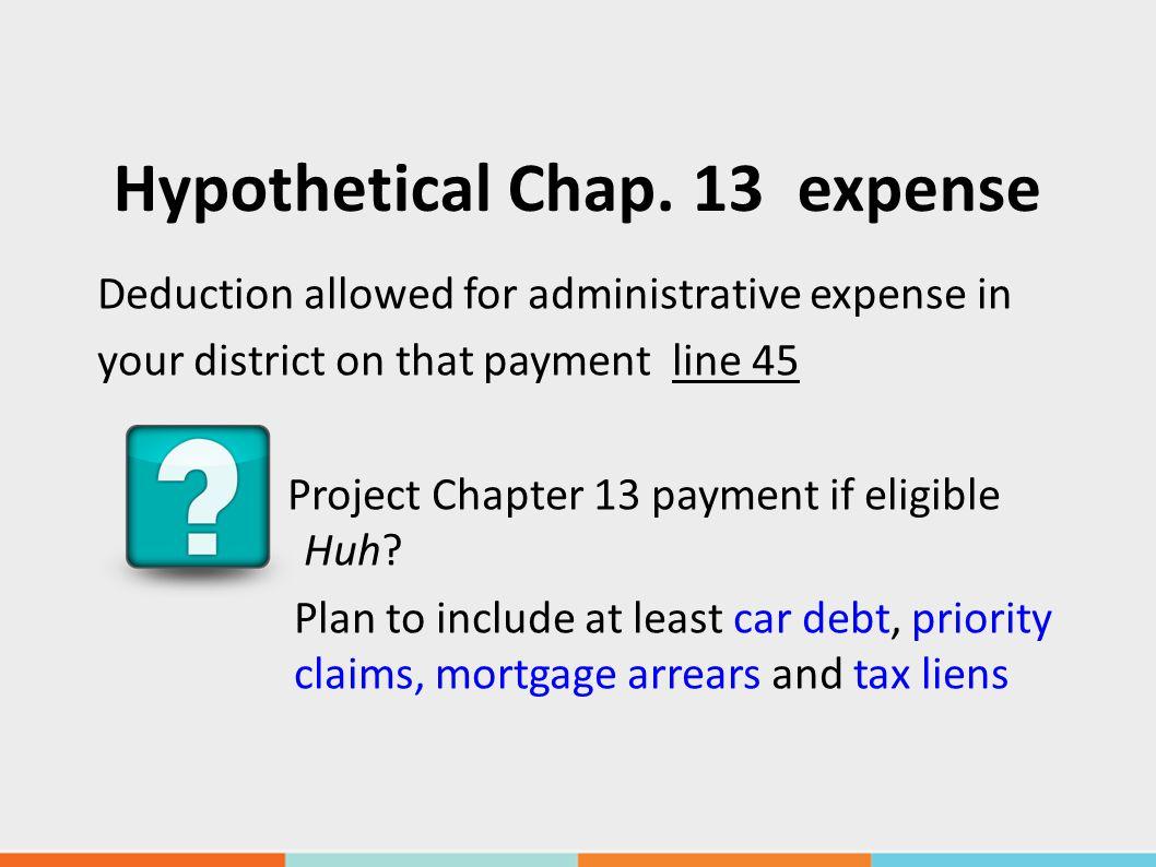 Hypothetical Chap.