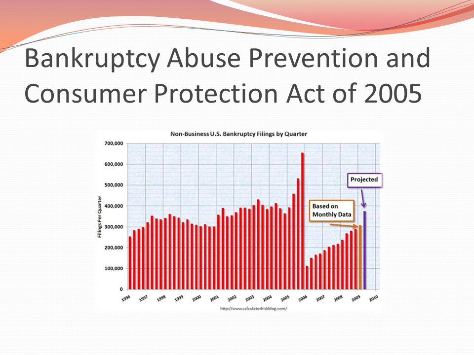 Bankruptcy Abuse Prevention and Consumer Protection Act of 2005