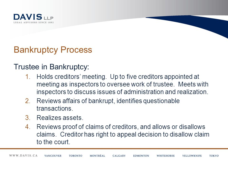 Sources of Liability for Personal Representative pay off creditors contrary to priority scheme above distribute estate assets, other than to pay funeral and testamentary expenses, after being served with an application for bankruptcy distribute estate assets before satisfying claims of creditors of which they had actual or constructive notice if estate assets insufficient to fully indemnify the personal representative for proper costs incurred