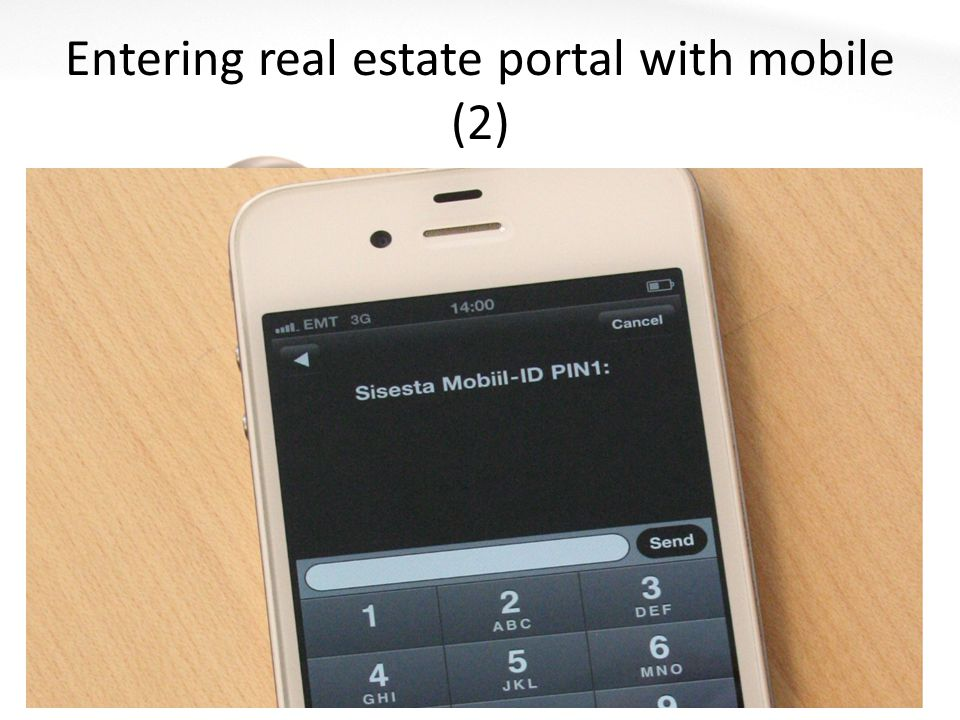 Entering real estate portal with mobile (2)