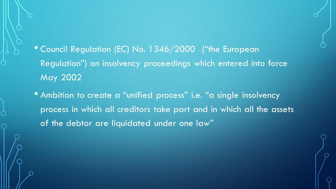 Council Regulation (EC) No.