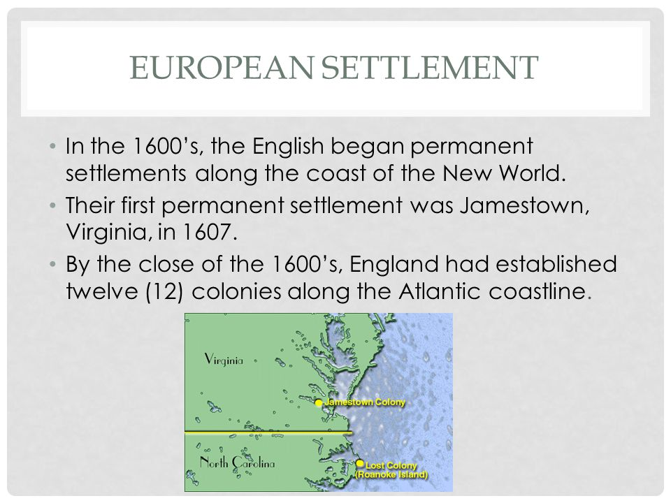 REASONS FOR SETTLEMENT In exchange colonists had to agree to the following: Each man was to defend the new colony.