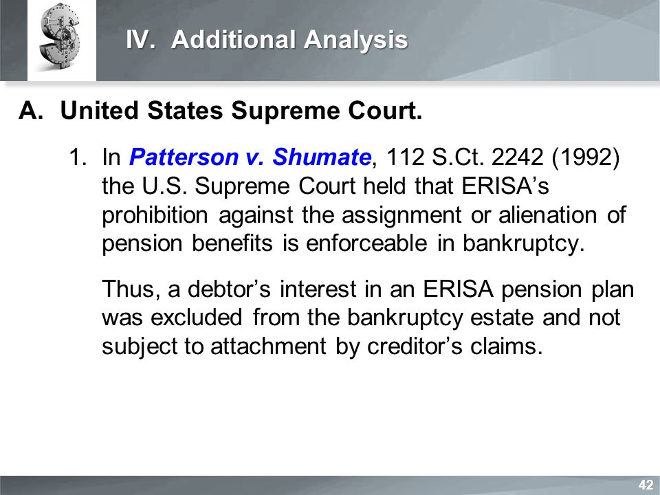 IV. Additional Analysis A.United States Supreme Court.