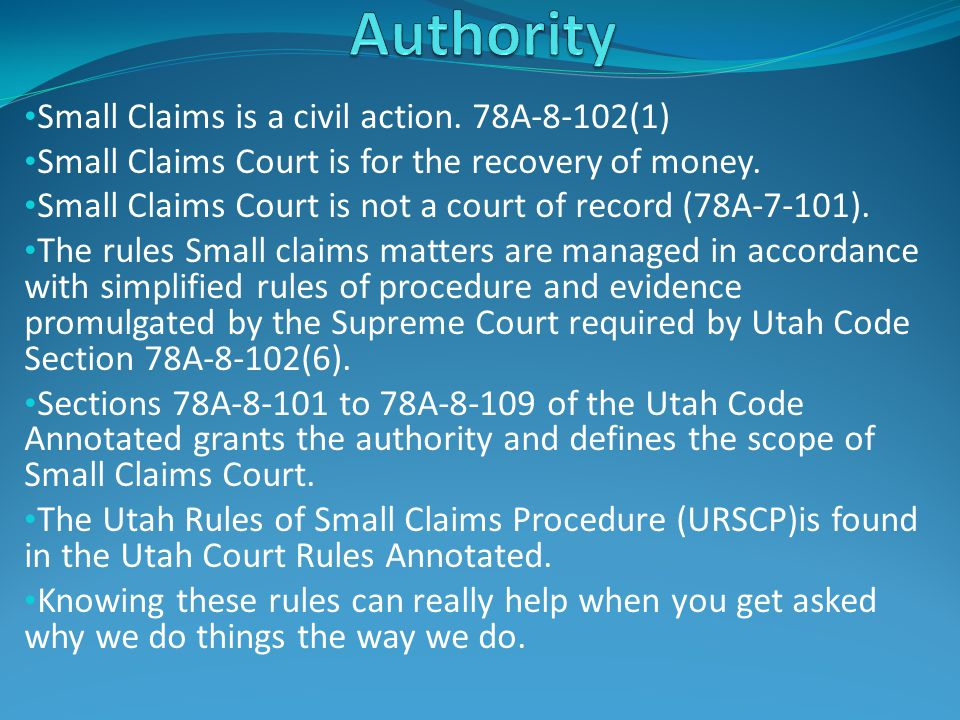 If the defendant alleges that the plaintiff owes them money.