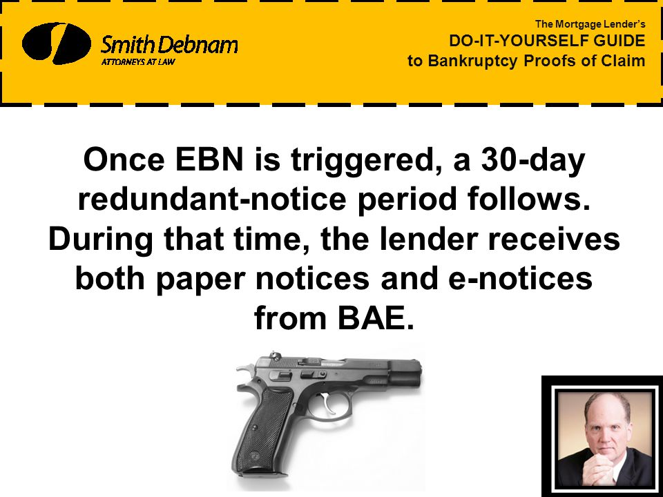 Once EBN is triggered, a 30-day redundant-notice period follows.