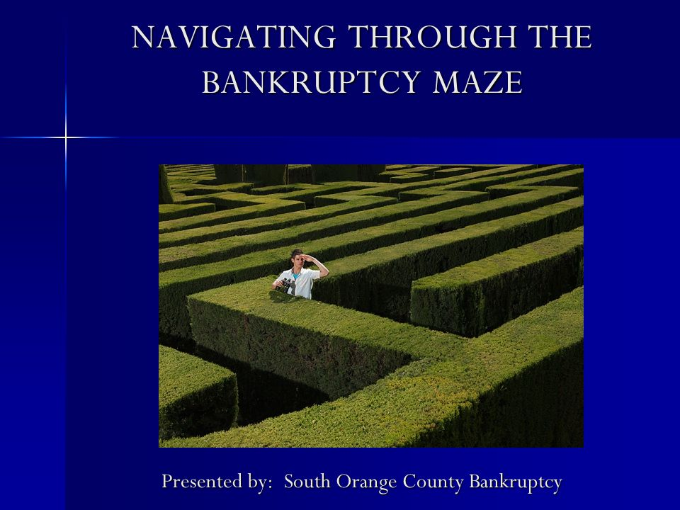 What Happens to My Property in a Bankruptcy.