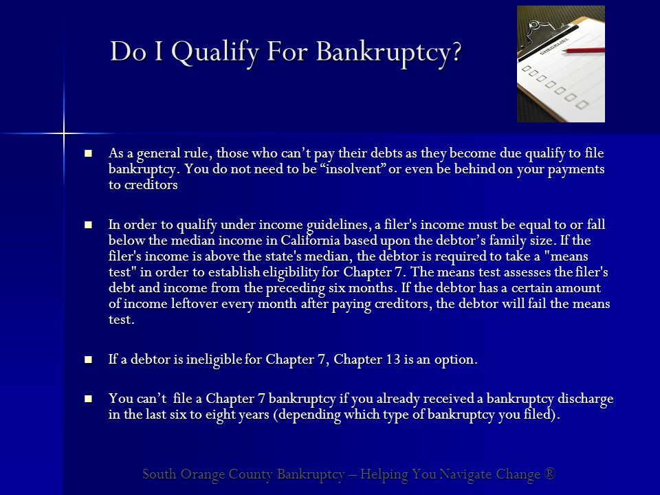 How Long Does a Typical Chapter 7 Bankruptcy Take to Complete.