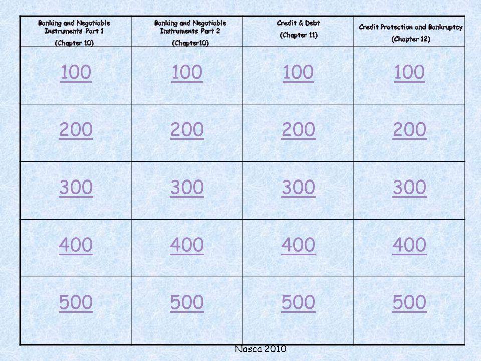 Nasca 2010 100 200 300 400 500