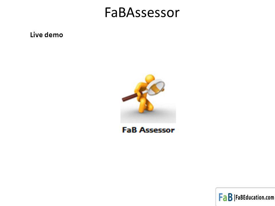 FaBAssessor Live demo