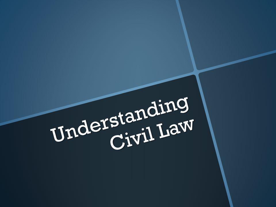 Understanding Civil Law