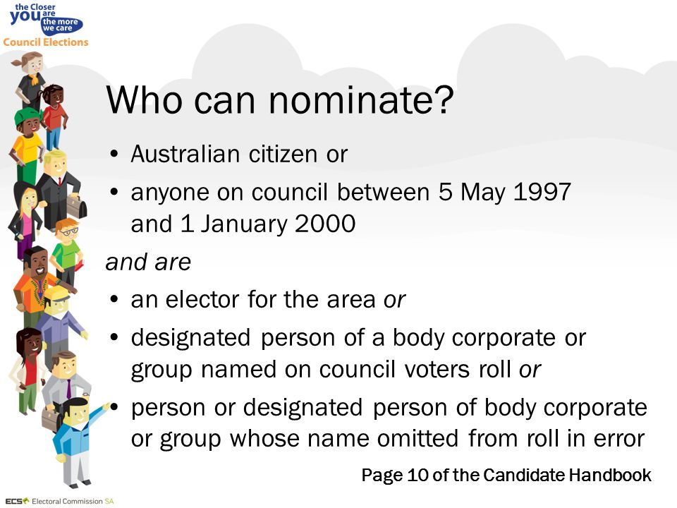 Quota from: 1 st preference votes or combination of 1 st preference votes and votes transferred from either elected or excluded candidate/s final vacancy, 2 candidates remaining in count, neither with quota – candidate with largest number of votes is elected