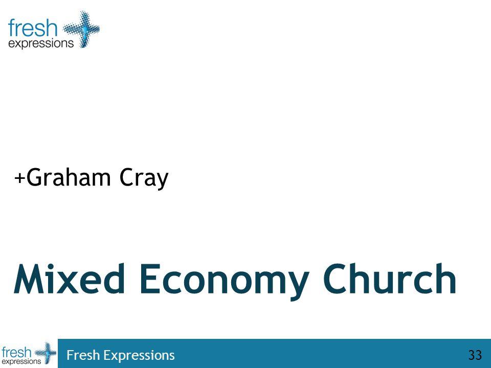 Fresh Expressions33 Mixed Economy Church +Graham Cray