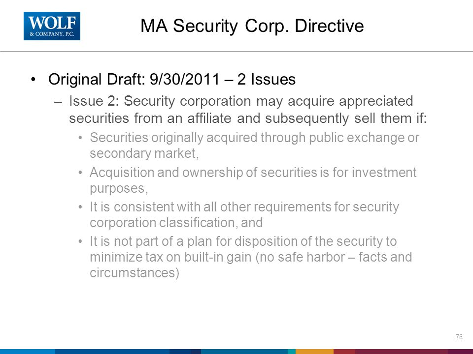 MA Security Corp.