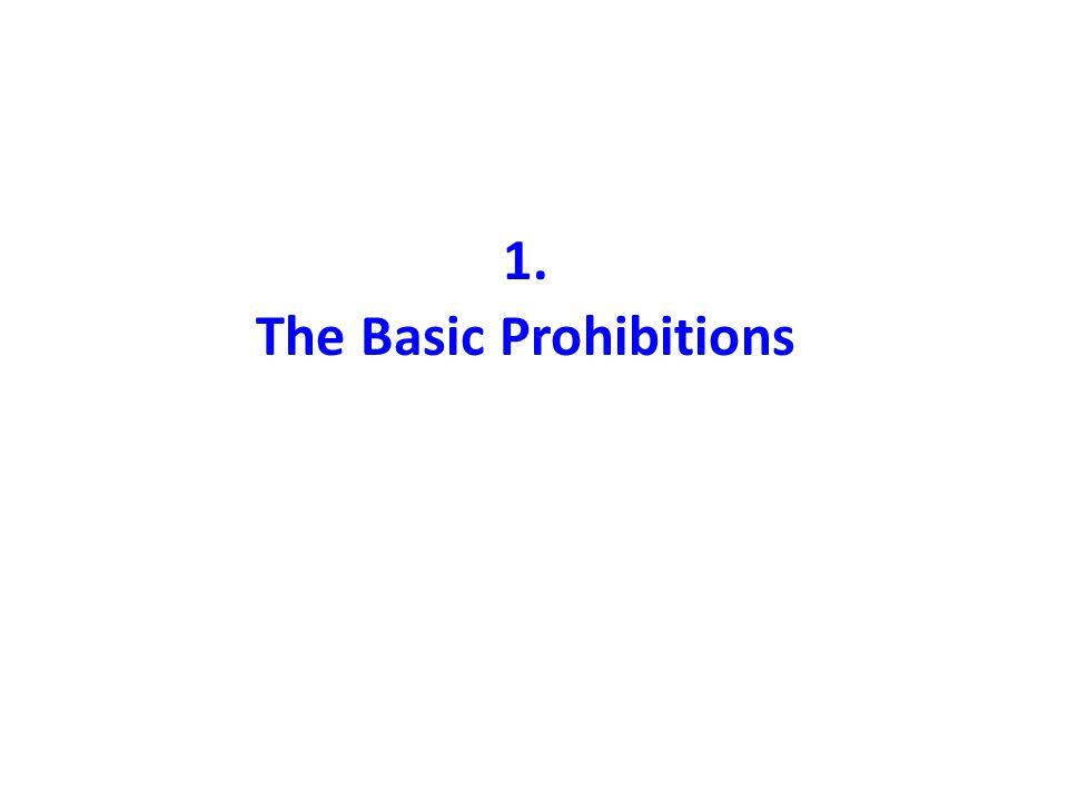 Three Basic Prohibitions Islam does not recognize transactions that have proven illegitimate factors Three factors/elements identified interest - riba excessive ambiguity - Gharar gambling - Maysir Lead to contracts to be void/invalid/nullified