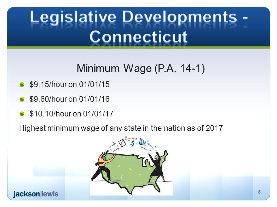 Minimum Wage (P.A.
