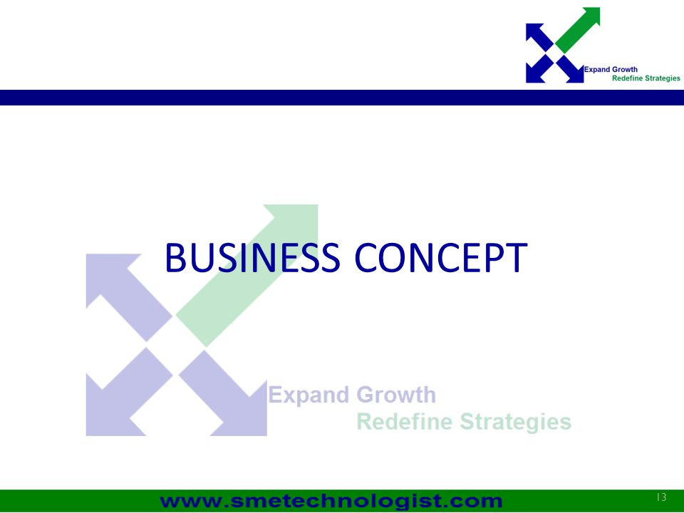 BUSINESS CONCEPT 13