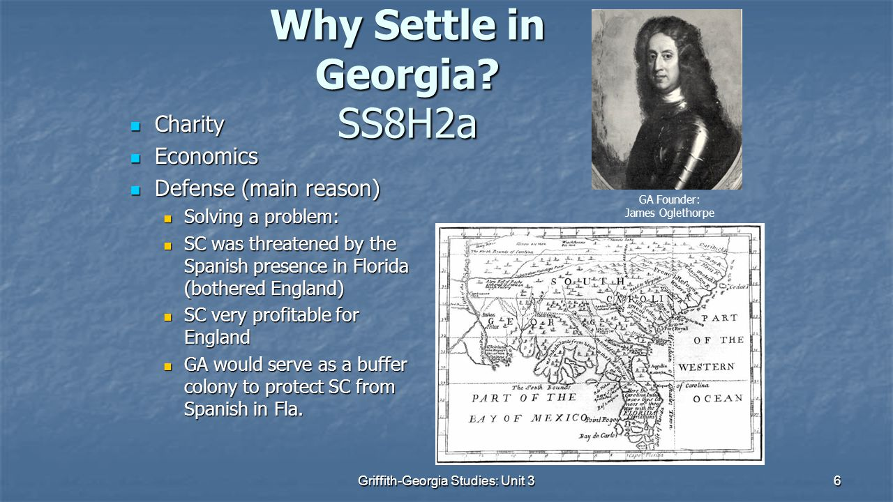 6 Why Settle in Georgia.