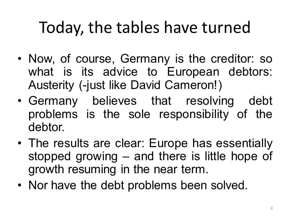 A bond swap to solve a liquidity problem *Replacing 'plain vanilla' debt by growth bonds D' D D X = ΘτY Growing out of debt O Solvency Constraint Liquidity Constraint 'Debt Equity' Swap* Liquidity Problem X0X0 15