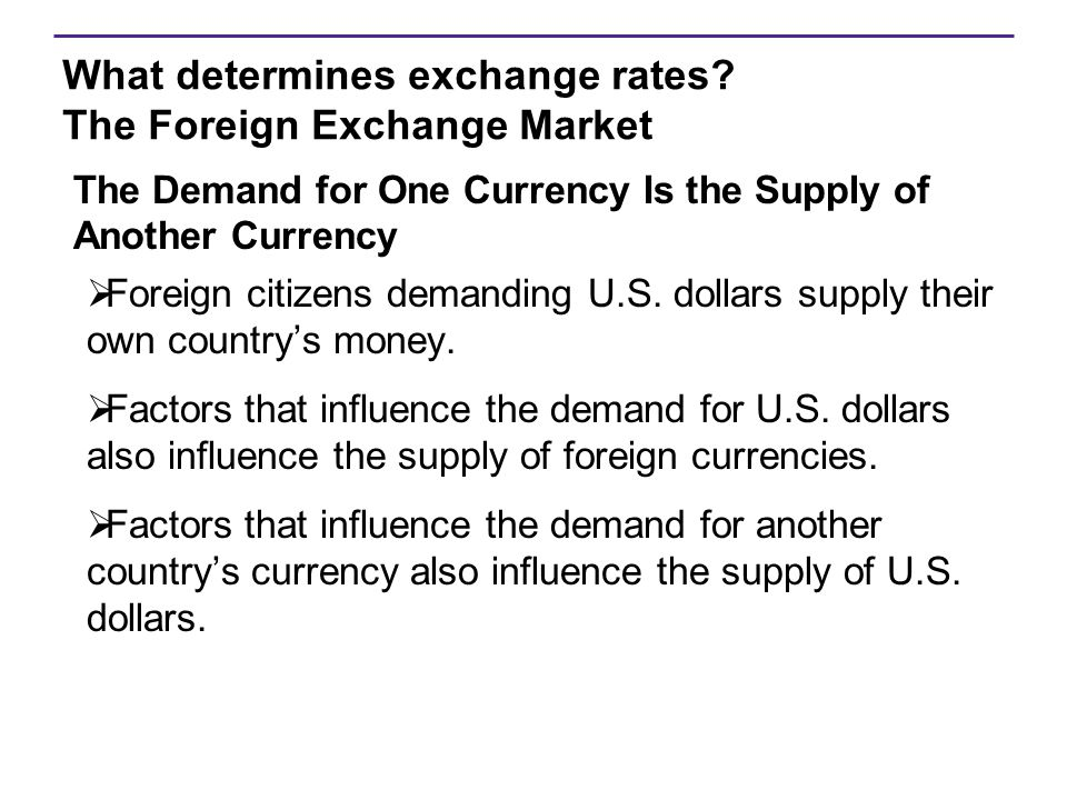Purchasing Power Parity  Exists when the exchange rate is such that a currency has the same purchasing power in all countries.