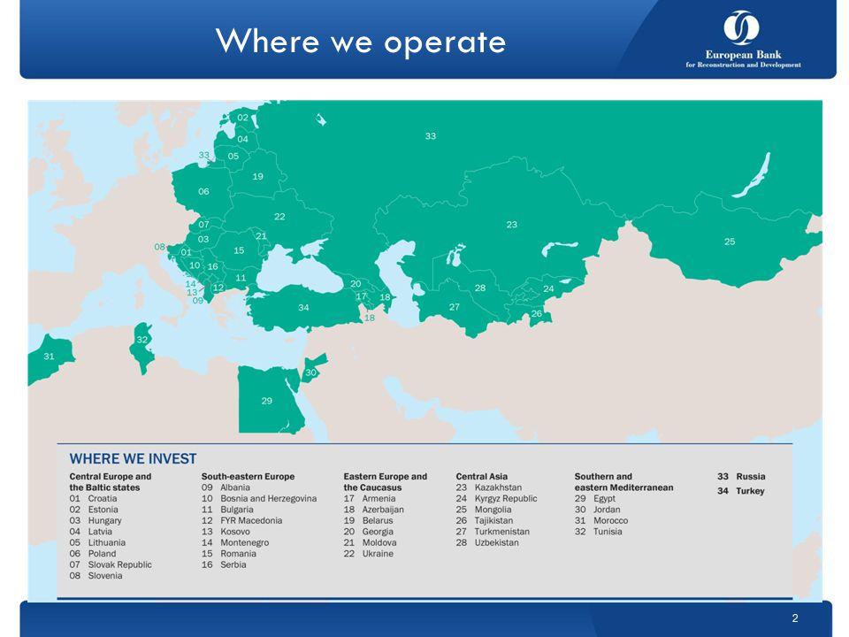 Where we operate 2