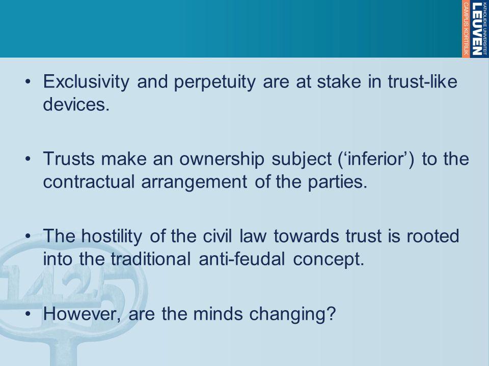 II.Some developments in European civil law A.