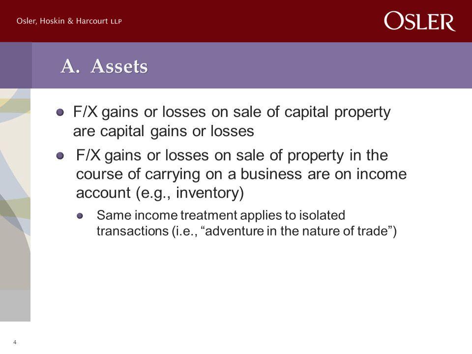 A. Assets 4