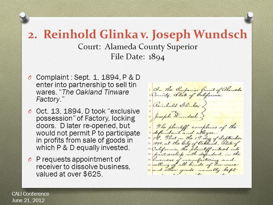 2. Reinhold Glinka v.