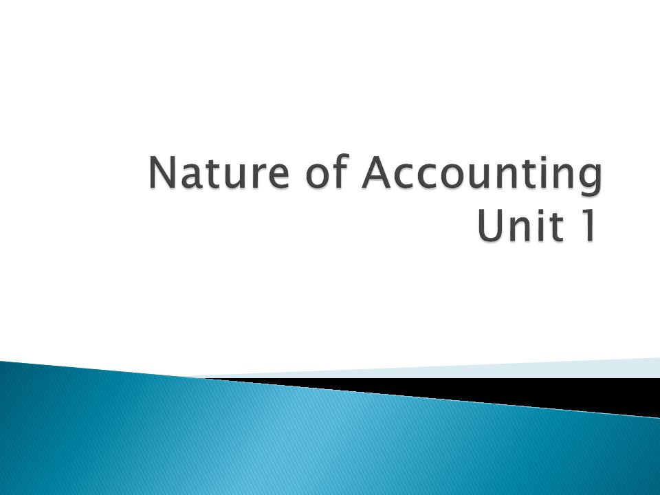  The meaning & functions of Accounting  The difference between Accounting & Bookkeeping  The purpose of keeping Accounting records  The Accounting Cycle/Process  Identify the different users of Accounting information