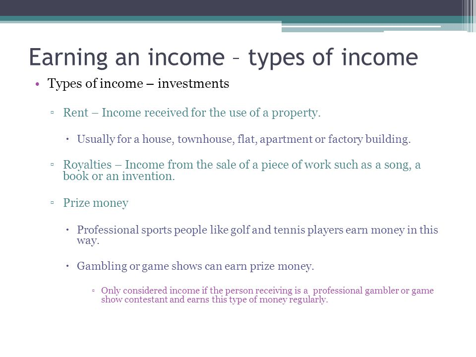 Spending and saving income – Activity - money diary Create a money diary of your income and spending for a week.