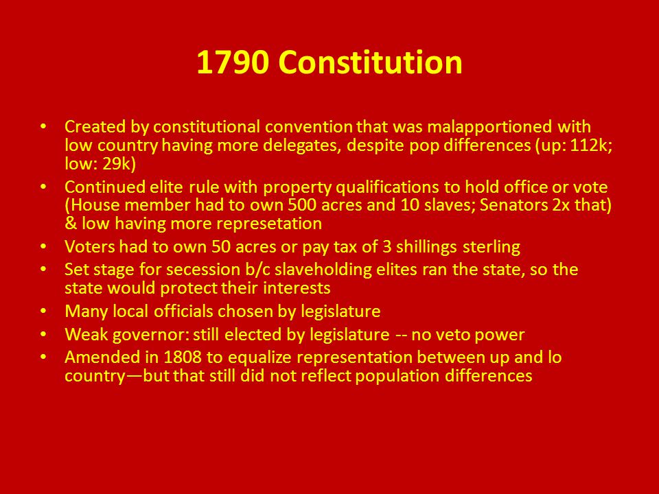1861 Constitution little change in powers wording changed to fit CSA confederal form of government