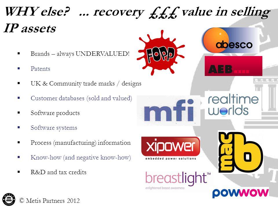  Brands – always UNDERVALUED.