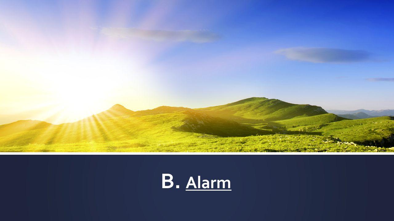 B. Alarm
